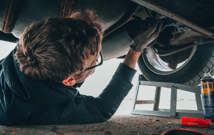 Muffler exhaust repair