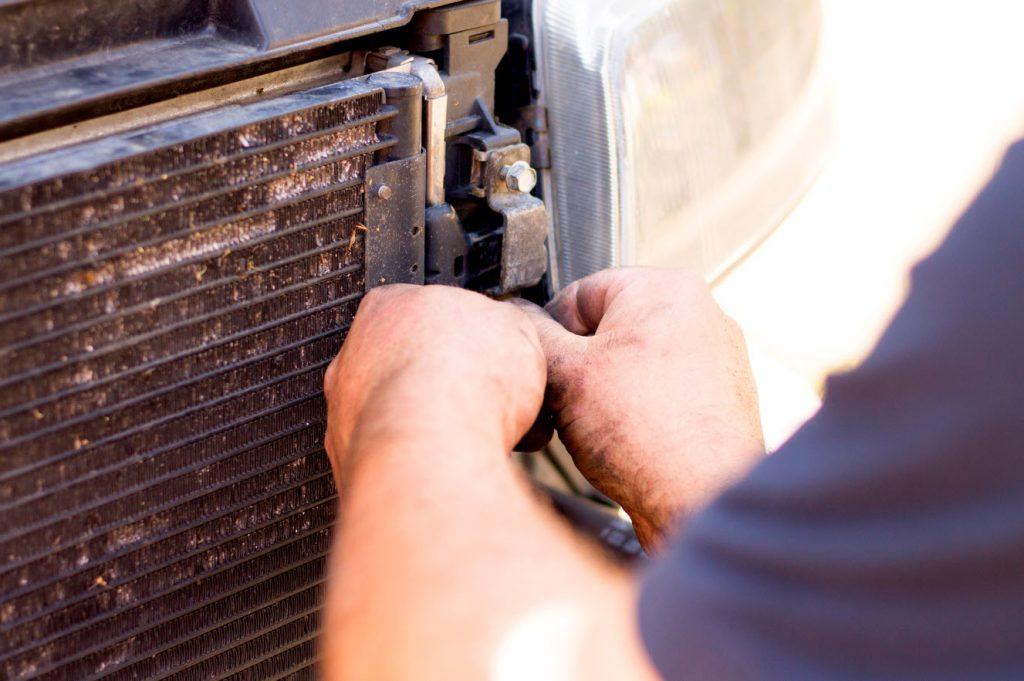 Radiator repair