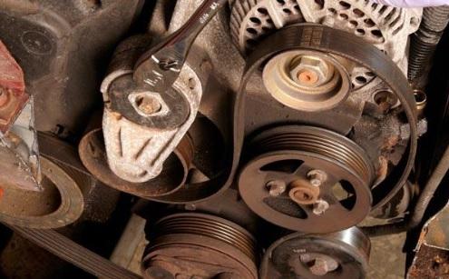 Serpentine belt replacement